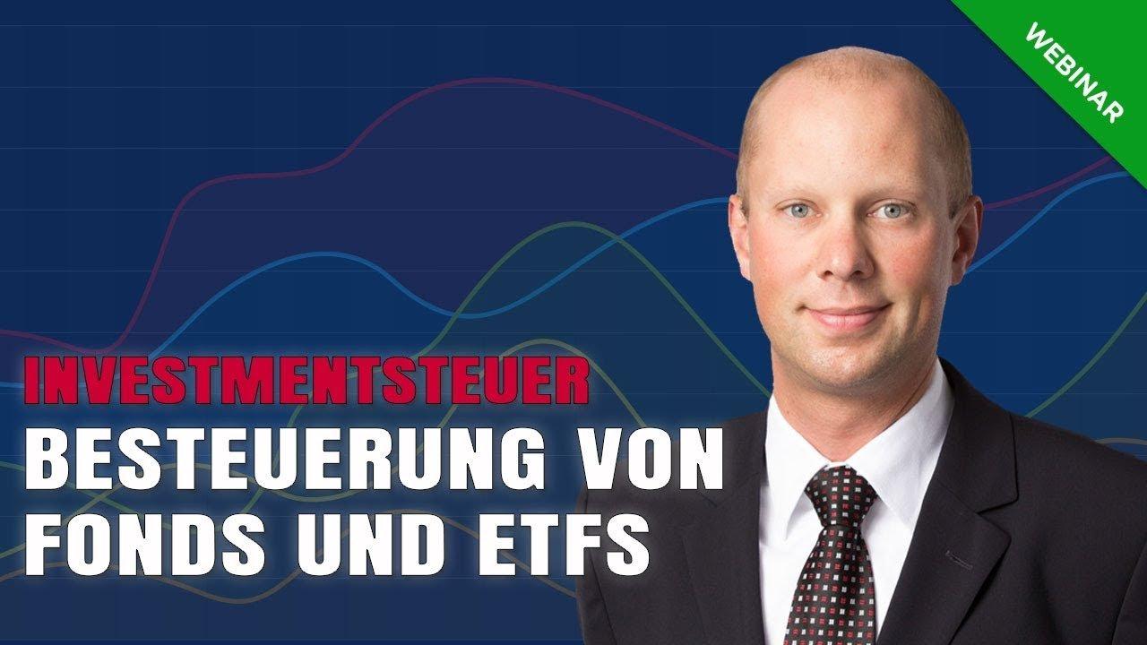 Besteuerung von Fonds & ETFs