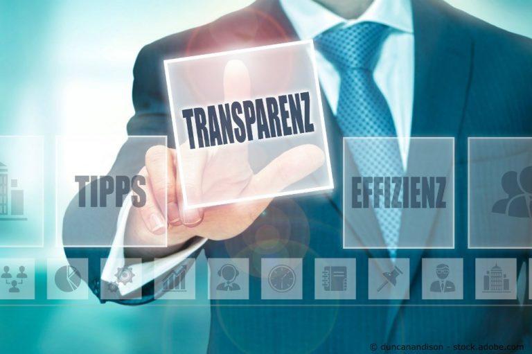 transparenz gross
