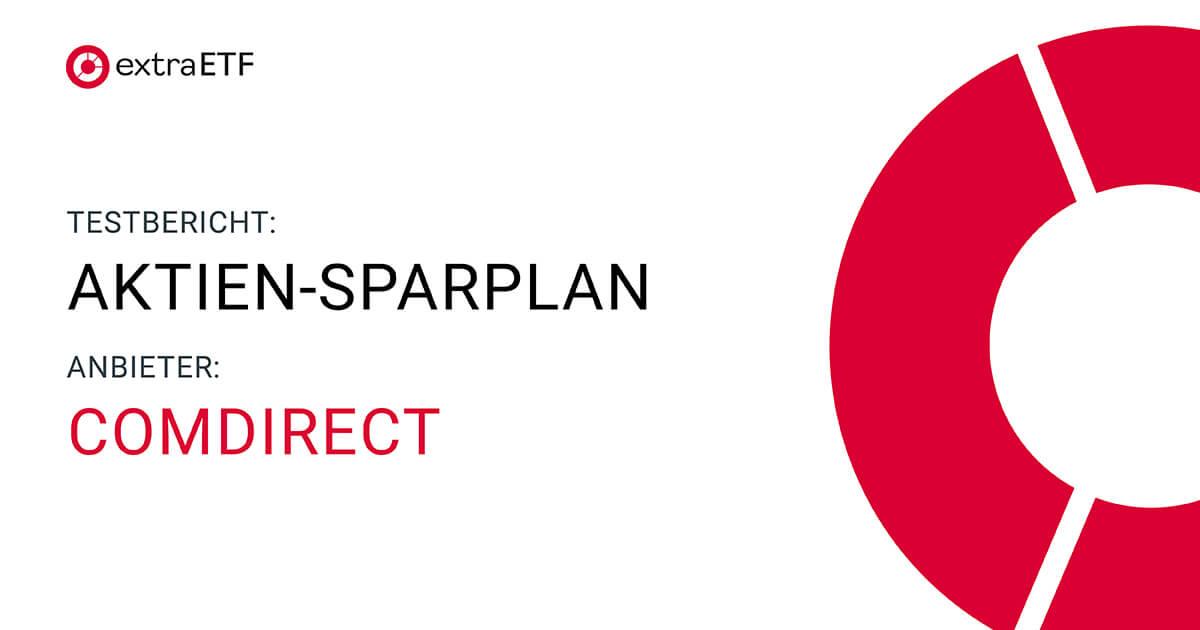 Comdirect Sparpläne