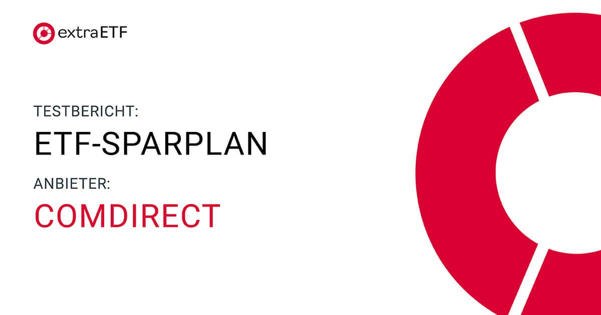 Comdirect Sparplan Etf