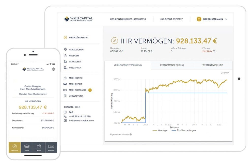 WMD Capital - Dashboard