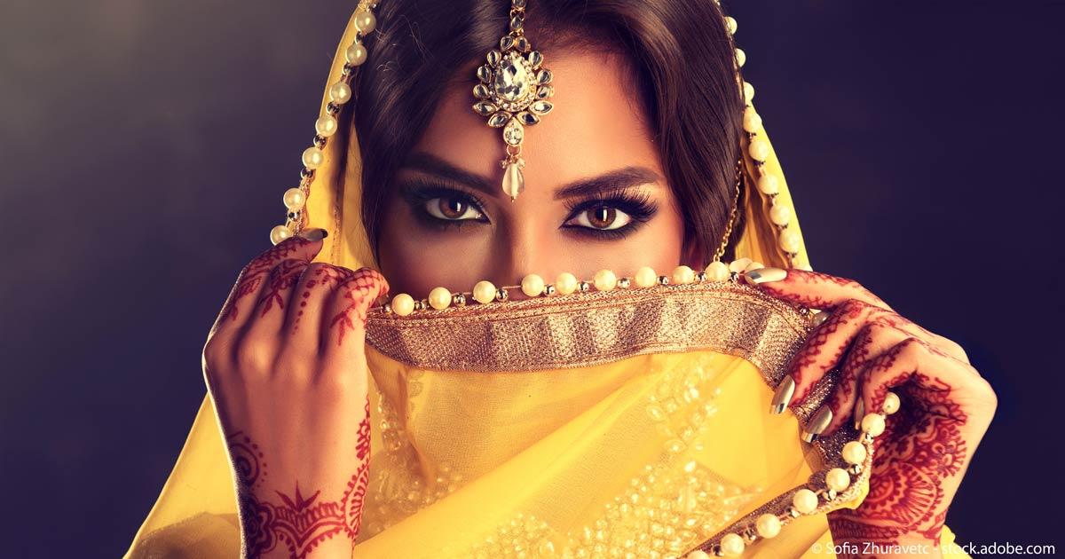 Indien-Frau