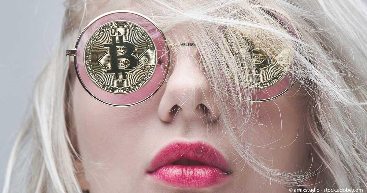Bitcoin-Frau