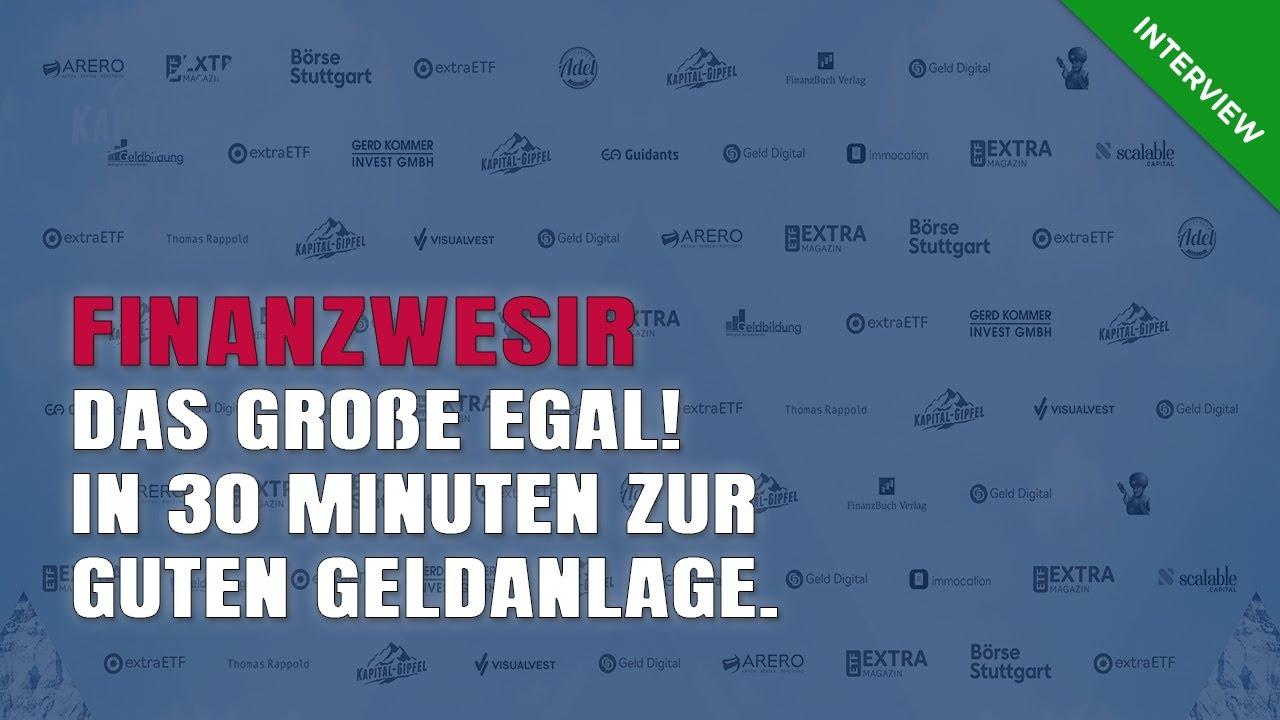 Kapital-Gipfel Finanzwesir Albert Warnecke