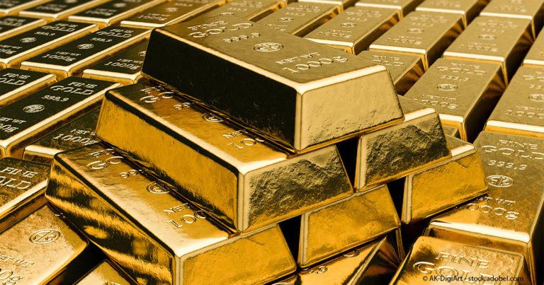 Goldbarren-Euwax-Gold