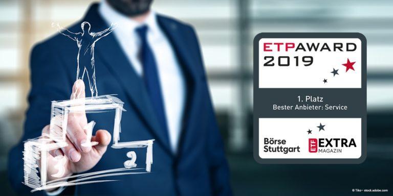 iShares gewinnt ETP-Award 2019 für den besten Service