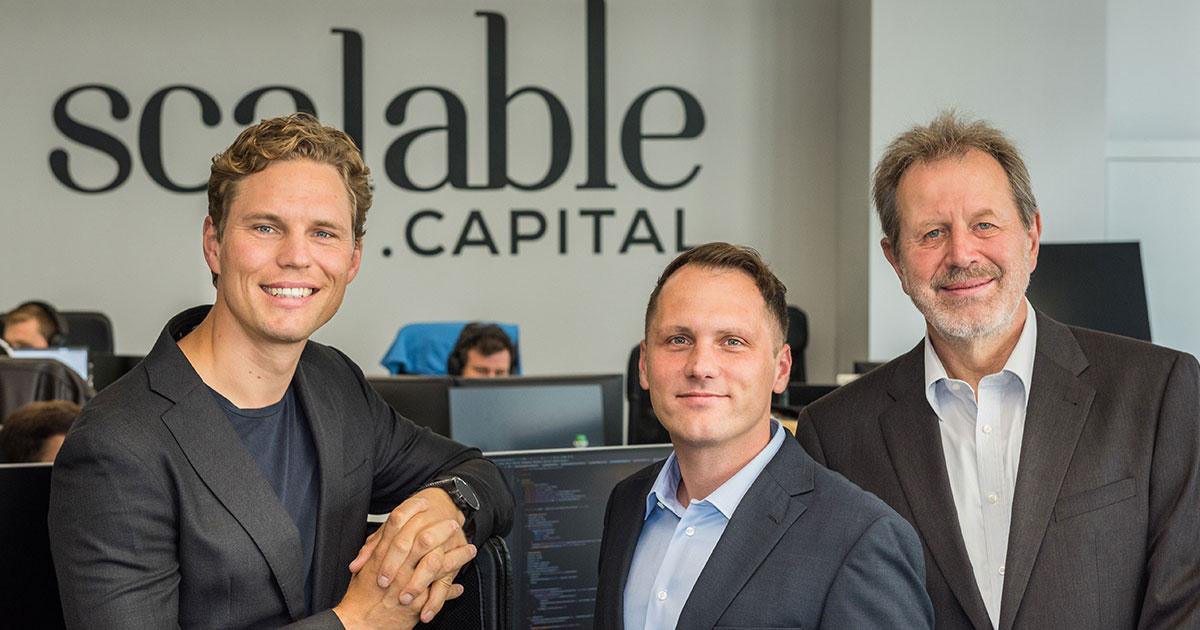 Scalable Broker: Team von Scalable Capital
