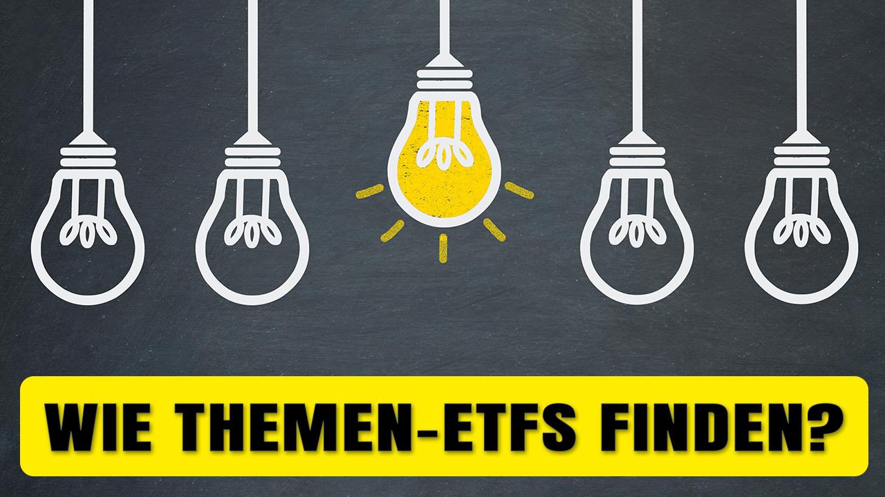 Webinar um passende Themen-ETFs zu finden