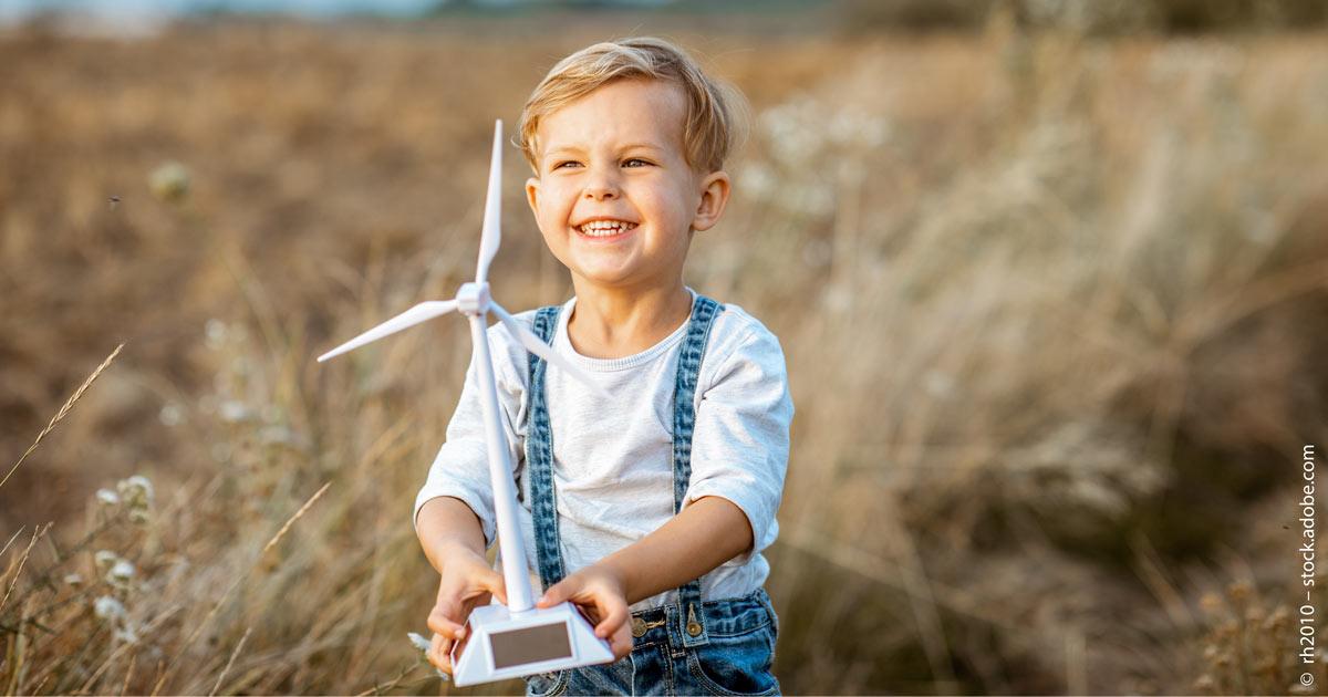 Nachhaltig investieren für Kinder.