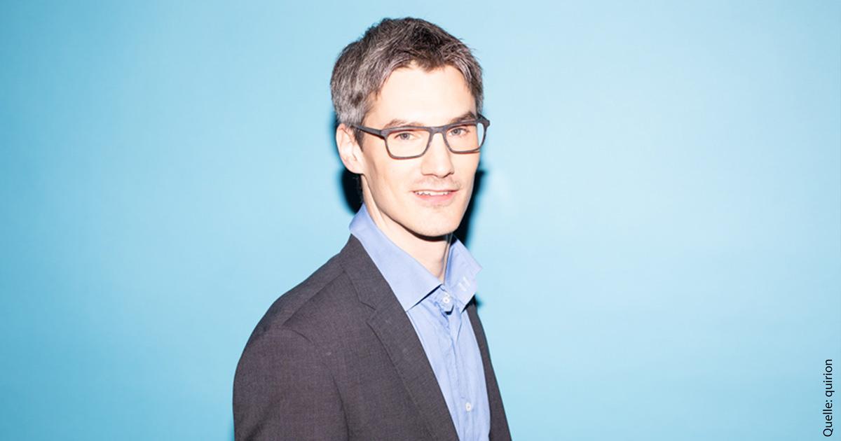 Anselm Hüwe, Senior Analyst und der Altersvorsorge-Experte bei Quirion.