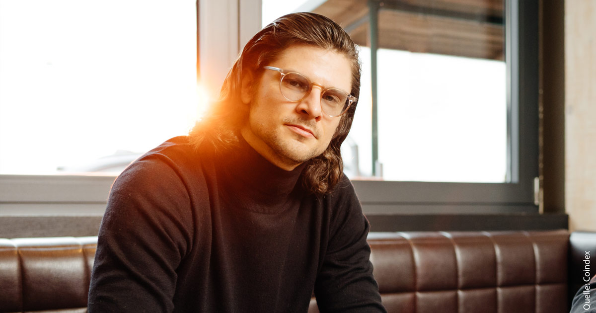 Coindex-Gründer Kai Kuljurgis.