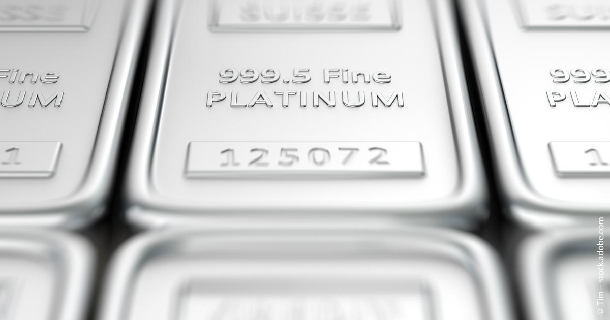 Bei den Edelmetallen glänzt nicht nur Gold.