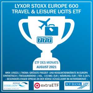 ETF des Monats August - Börse Düsseldorf